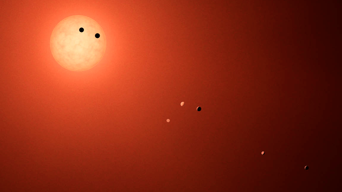 Record Breaking Discovery of Seven Exoplanets Around a Single Star