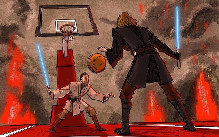 Sith or Jedi? Today's NBA Stars